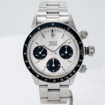 Rolex Daytona Steel 37mm Silver No numerals United States of America, Massachusetts, Boston