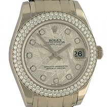 Rolex Datejust Lady Weißgold Special Edition Pearlmaster...