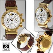 IWC Da Vinci Perpetual Calendar 3750 Muy bueno Oro amarillo Automático