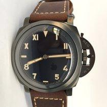 Panerai Special Editions Titanium 47mm Black Arabic numerals