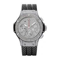 Hublot Big Bang 41mm Automatic Stainless Steel Mens Watch...