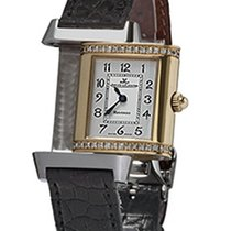 Jaeger-LeCoultre Reverso (submodel) Gold/Steel 21mm Silver Arabic numerals United States of America, Florida, Plantation