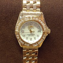 Breitling Callistino Yellow Gold Diamond Bezel- Serviced by...