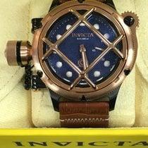 Invicta Acero 52mmmm Cuerda manual Invicta Men's 16360 Russian Diver Analog Display Mechanical nuevo