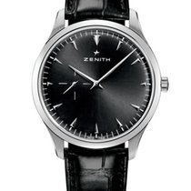 Zenith Elite Ultra Thin Steel 40mm Black