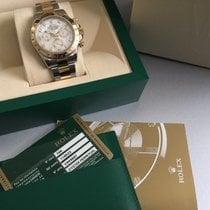 Rolex Daytona  Stainless / 18k Gold Factory White MOP Diamond...