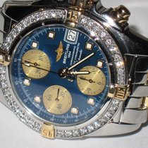 Breitling Cockpit Gold/Steel 39mm Blue No numerals United States of America, New York, NEW YORK CITY