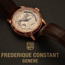Frederique Constant Manufacture Worldtimer tweedehands 42mm Staal