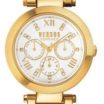 Versace SCA030016 Ladies CAMDEN MARKET Crystal Watch w/ Day-Date