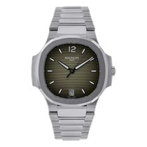 Patek Philippe Nautilus Steel 35.2mm Silver No numerals United States of America, New York, New York