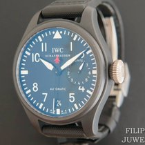IWC Big Pilot Top Gun Керамика 46.2mm Чёрный