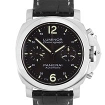 Panerai Luminor Chrono pre-owned 40mm Steel