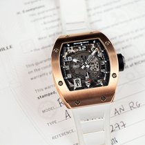 Richard Mille 48mm Automatic 2014 pre-owned RM 010 Transparent