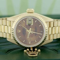 Rolex Lady-Datejust Or jaune