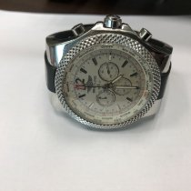 Breitling 49mm Automatic 2011 pre-owned Bentley GMT