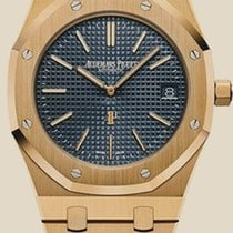 Audemars Piguet Royal Oak Jumbo Жёлтое золото 39mm Синий Россия, Moscow
