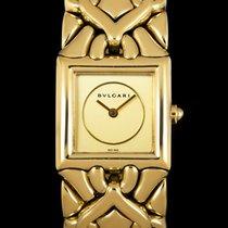 Bulgari Parentesi Yellow gold 21mm Champagne No numerals