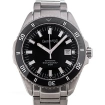 Eberhard & Co. Scafograf 300 Steel 43mm Black