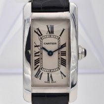 Cartier Tank Américaine White gold 19mm White Roman numerals