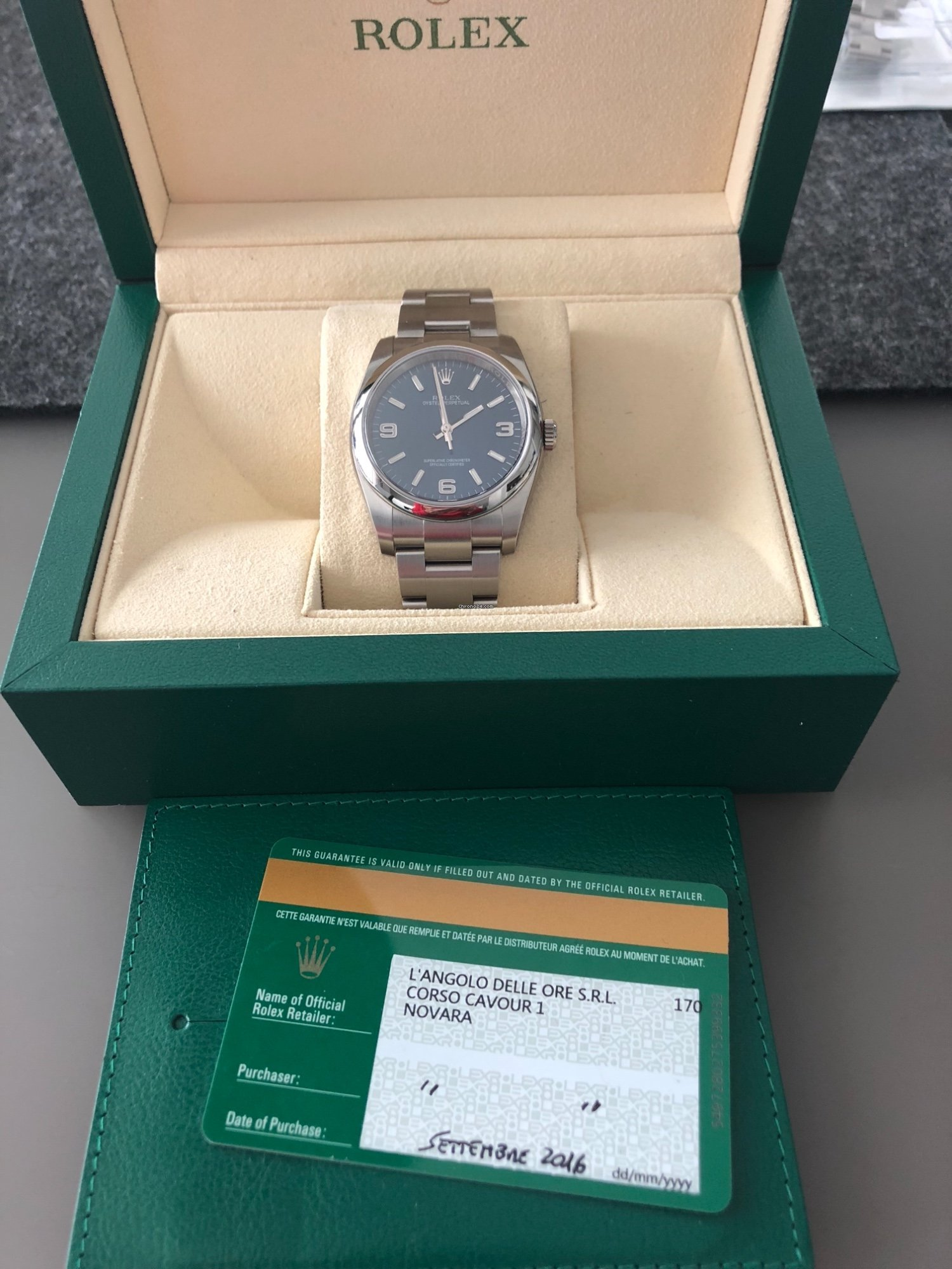 Oyster 934 Perpetual Parte Rolex Un Venta En Por Mx100 De 36 FclK1TJ