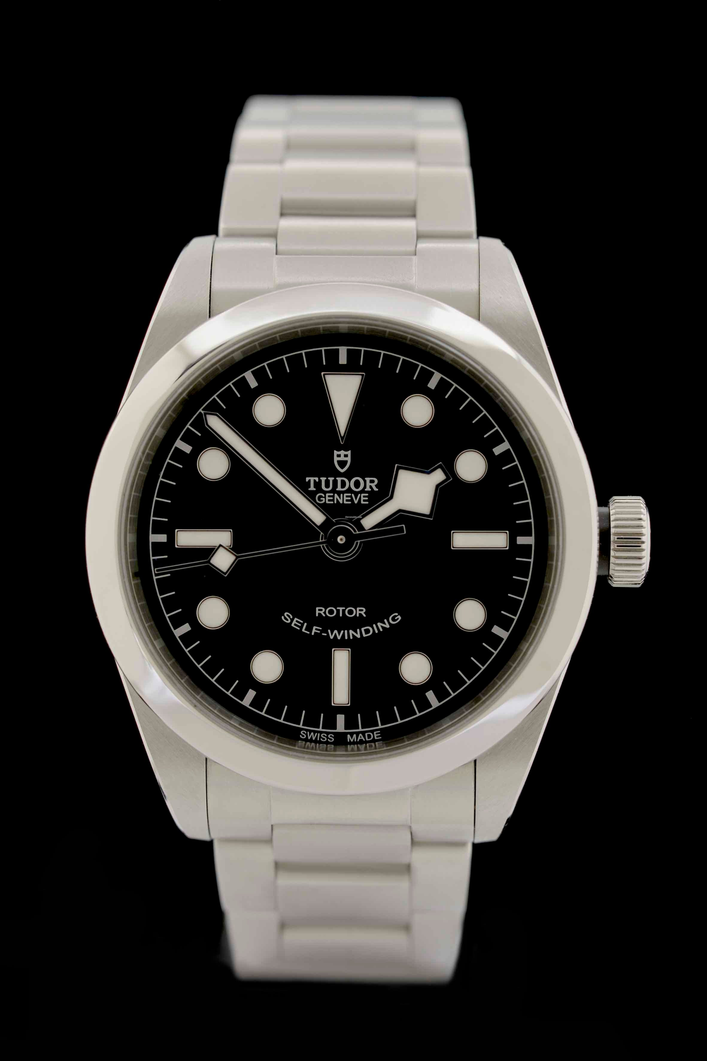 big sale 78e95 f48dc Tudor Heritage Black Bay 36 - Ref. 79500 - Box\/Papiere ...