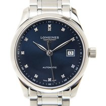 Longines L2.257.4.97.6 Steel Master Collection 29mm new