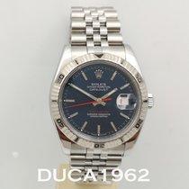 Rolex Datejust Turn-O-Graph Сталь 36mm Синий Без цифр