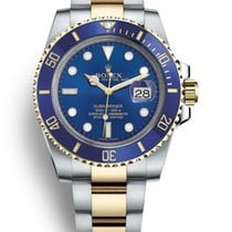 Rolex Submariner Date Gold/Steel 40mm Blue No numerals United States of America, New Jersey, Woodbridge