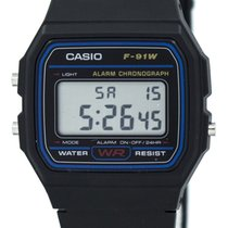 Casio F-91W-1SDG new