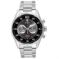 TAG Heuer Carrera Calibre 36 Steel 43mm Silver Arabic numerals United States of America, Georgia, Atlanta
