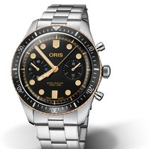 Oris Divers Sixty Five Steel 43mm Black No numerals