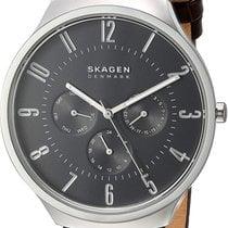 Skagen Steel 42mm Quartz SKW6536 new