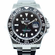 Rolex GMT-Master II Steel 40mm Black No numerals Singapore, Singapore
