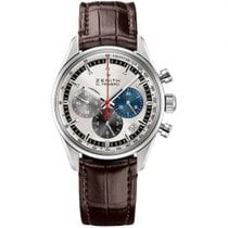 Zenith El Primero Original 1969 Steel 38mm Silver United States of America, Pennsylvania, Holland
