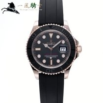 Rolex Yacht-Master 40 Oro rosado 40mm Negro
