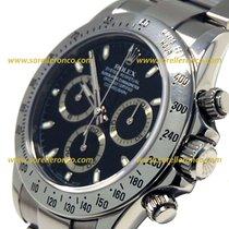 Rolex DAYTONA 116520 Black Dial Steel Bezel - 116520