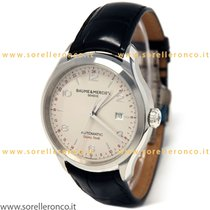 Baume & Mercier Clifton M0A10112 Baume Mercier GMT Dual Time 43mm Automatico nuevo