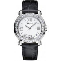 Chopard Ladies 278475-3037 Happy Sport Diamonds 36 mm Watch