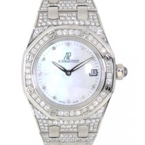 Audemars Piguet Royal Oak Lady 67602bc.zz.1212bc.01 White Gold...