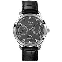 Glashütte Original Senator Observer Steel 42mm Grey Arabic numerals United States of America, Pennsylvania, Holland