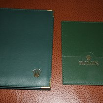 Rolex wallet and card holder
