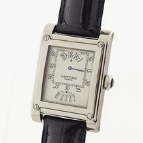 カルティエ (Cartier) TANK A Vis LM 28mm W1534551 Manual K18 Croco