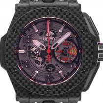 Hublot Big Bang Ferrari Carbon Red Magic Automatik Chronograph...