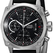Oris BC4 Chronograph Automatic Steel Mens Strap Watch Calendar...