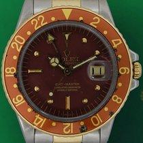 Rolex Vintage GMT Master 1675 Tiger EYE 1970 Gold Steel