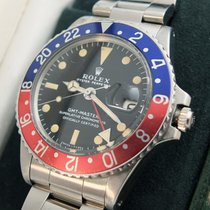 "Rolex 1675 GMT-Master"" Pepsi"" Mark I Blatt von 1971"