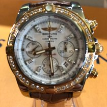 Breitling Chronomat diamonds pearl