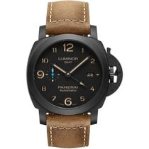 Panerai Luminor 1950 3 Days GMT Automatic Ceramic 44mm Black United States of America, New York, New York