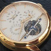 Jaeger-LeCoultre Tourbillon Perpetual Calendar 18k yellow gold