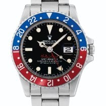 Rolex Gmt-master, Ref 1675 Stainless Steel Dual Time Wristwatc...